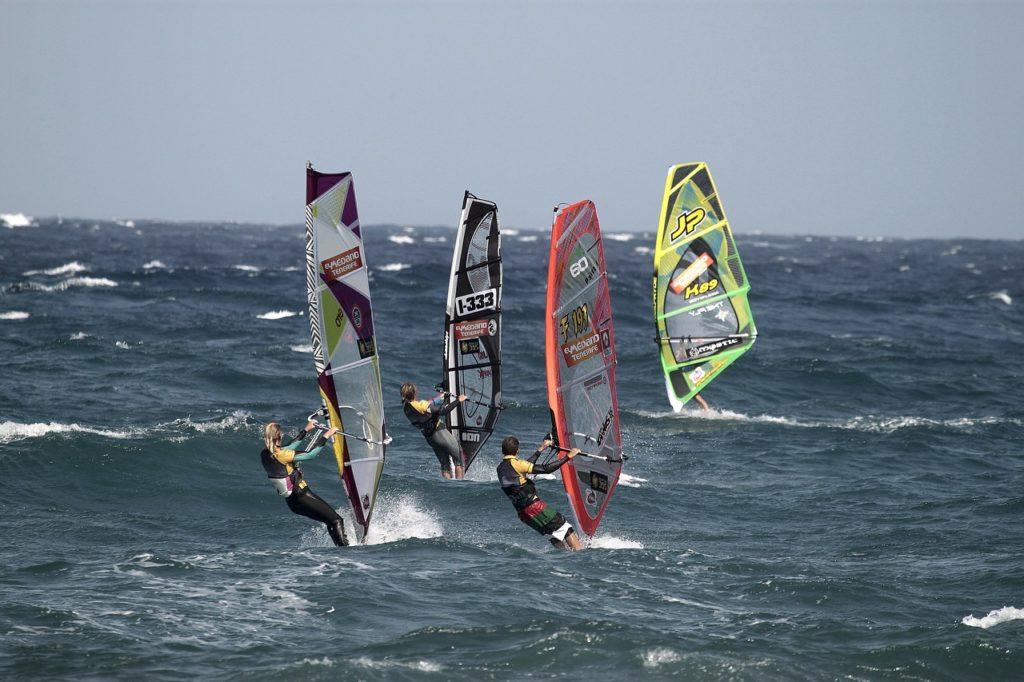 Vidéos windsurf