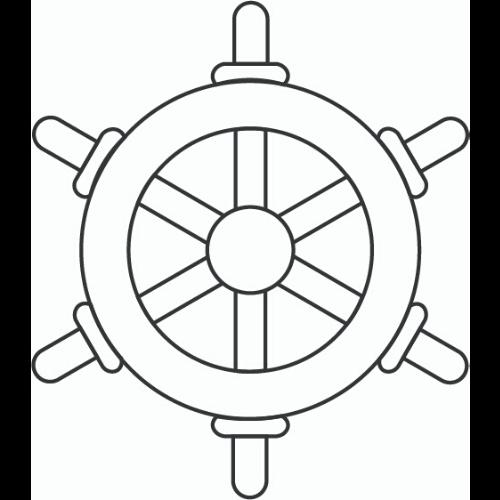 Roue de bateau