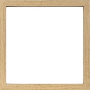 Matrice horloge cadre carré