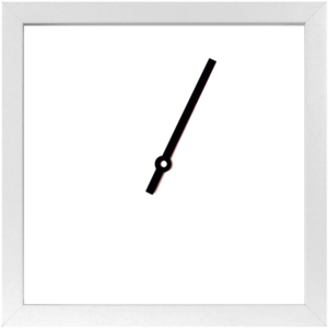 Horloge des marées - blanche