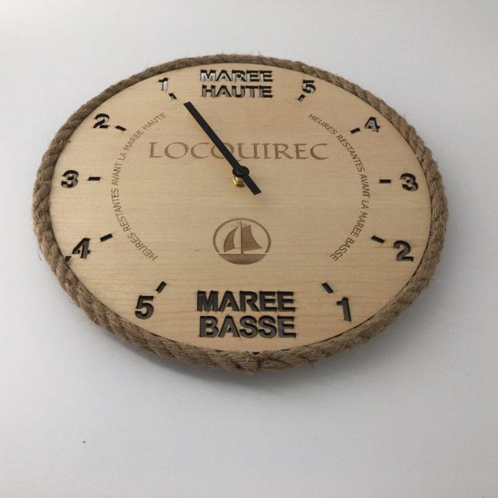 Horloge des marées - Locquirec