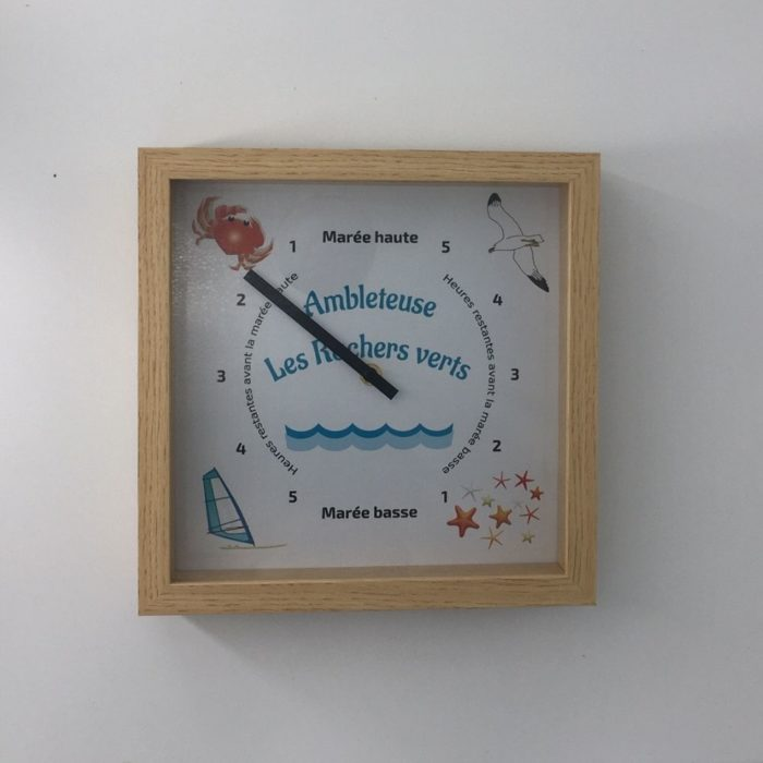 Horloge des marées - Ambleteuse