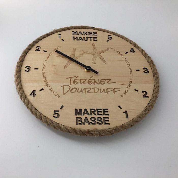 Horloge des marées - Etoile de mer