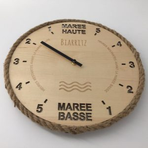 Horloge des marées - Biarritz
