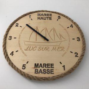 Horloge des marées - Luc sur Mer