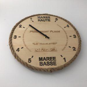 Horloge des marées - Merlimont Plage