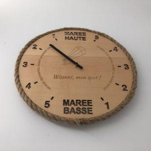 Horloge des marées - Wissant Kitesurf mon spot