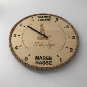 Horloge des marées - Stella Plage