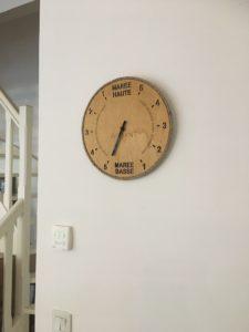 Photo Horloge des marées à Wissant