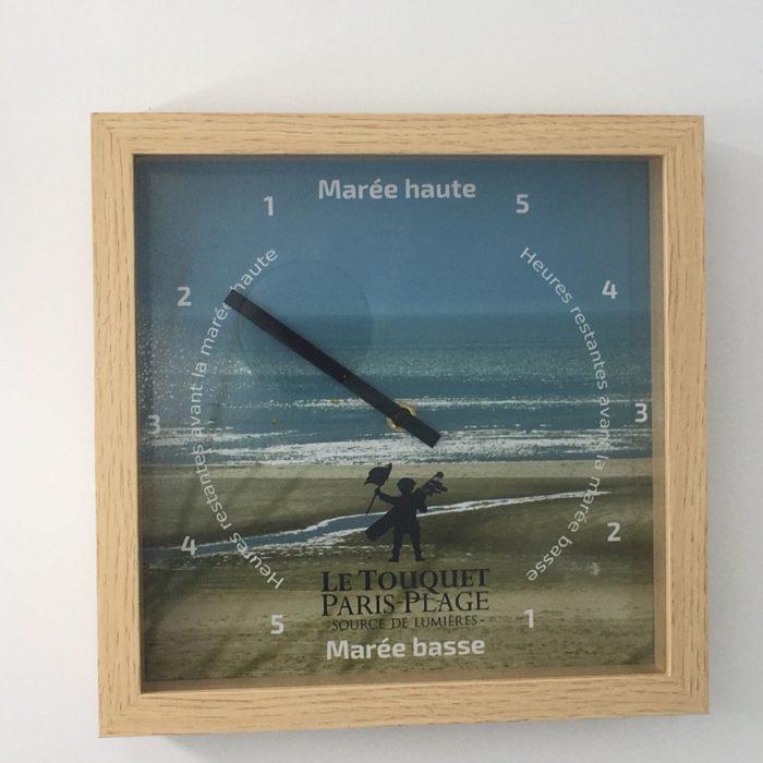 Horloge des marées - Le Touquet Paris Plage - Sources de Lumière