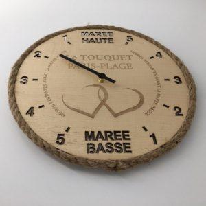 Horloge des marées - Le Touquet Paris-Plage